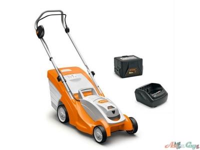 Аккумуляторная газонокосилка Stihl RMA 339 Set