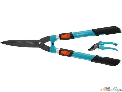 Ножницы для кустов Gardena 700T Comfort+секатор