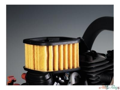 Может использоваться с воздушным фильтром для продолжительной работы в тяжелых условиях