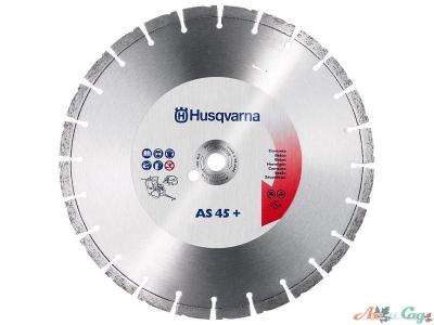 """Алмазный диск Husqvarna AS45+ 350-1"""",железобетон"""