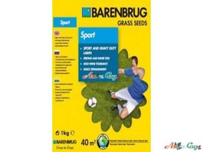 Семена газонной травы Barenbrug Sport 1 кг