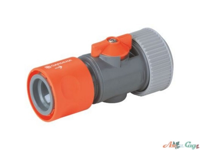 "Коннектор Gardena с регулятором 19 мм (3/4"")"